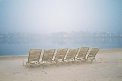 WDW Caribbean Beach Resort Misty Morning