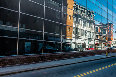 Pleasant Street Reflections - Worcester, MA