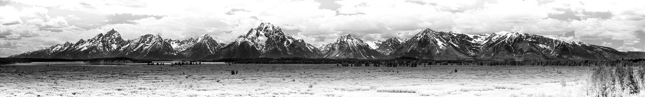 Grand Tetons Panorama