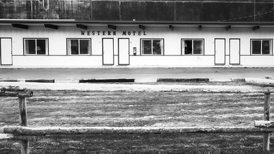Western Motel, Jackson Wyoming