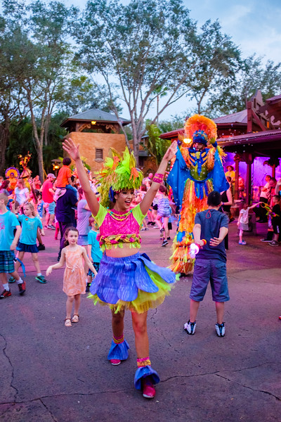 WDW Animal Kingdom Dance Party