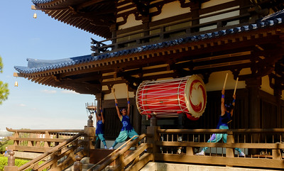 Epcot Matsuriza Taiko Drummers Japan Pavilion
