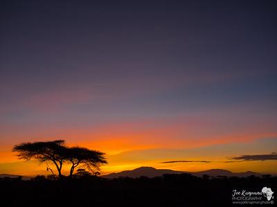 Sunrise in Ndutu