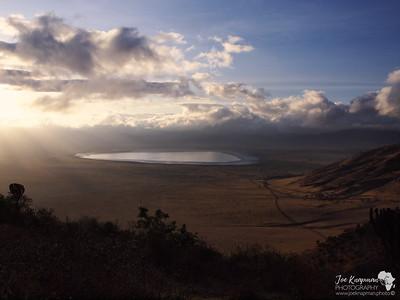 Sunrise over Ngorongoro