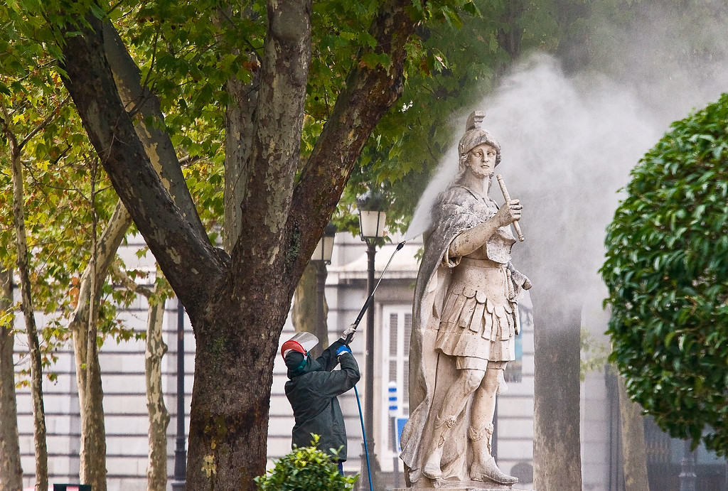 Statue Cleaning