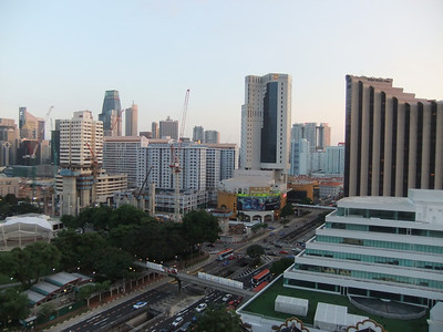 Another view from her room looking towards Chinatown