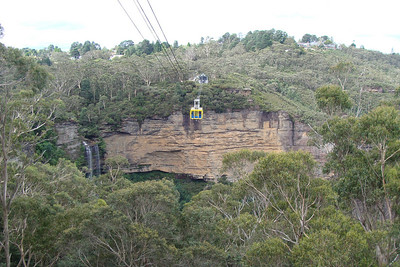 Cable cars, waterfalls, sandstone cliffs - really great stuff up in the mountains!