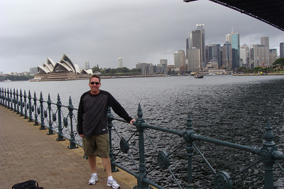 "PROOF that I was in Sydney, Australia and making sure that the ""typicaly tourist shot"" was SOMEWHERE in this photo album!"