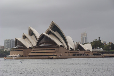 A great shot of the Sydney Opera House from across the harbour