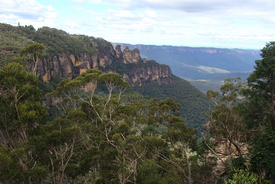 Next stop was Australia's Blue Mountain National Park - way up in the hills about 2 hours outside of Sydney