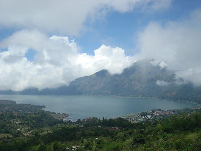 Near the center of Bali - way up in the mountains - is a large lake that sits in between two active volcanoes  ANYONE who has seen Piranha or any movie about a lake sitting in an active seismic zone can explain why I will never go near this place - the next eruption will release some primevial species that will stop at nothing to eat your face off