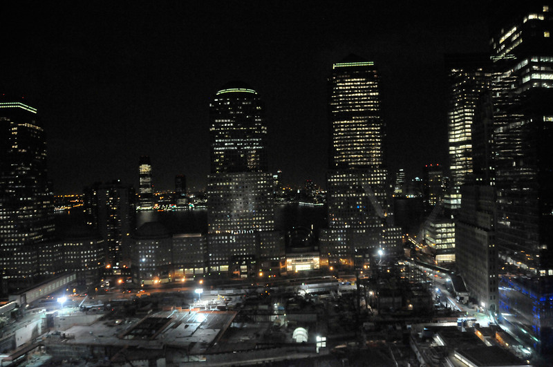 World Financial Center at night