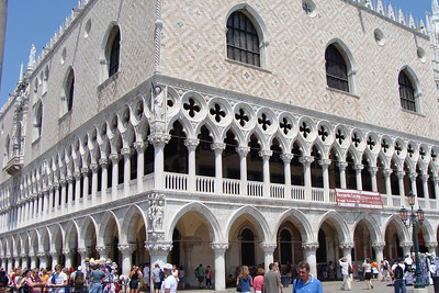 The Doge's Palace.  NO...there is not an Italian restaurant on the first floor.  That's the stupid Epcot version