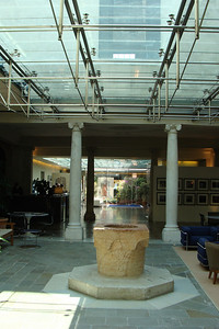 More in the lobby.  Basically - a pretty modern hotel (yes....there's LOTS of air conditioning) in a really old building