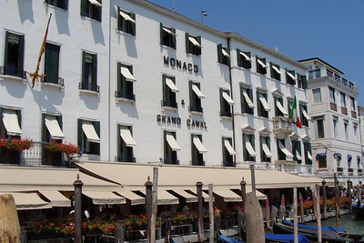 Amazing location!  The Monaco & Grand Canal is located less than a block away from Piazza San Marco and directly on the water at the entrance of Canal Grande