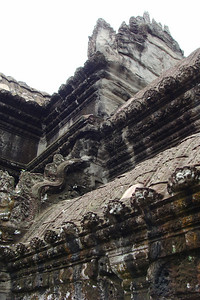 The number of tourists to Angkor Wat is still only a fraction of what other ancient monuments see - which allows  the opportunity to explore the entire temple at will and get up close to every detail