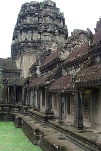 One could spend almost an entire day in Angkor Wat - exploring every passageway and bas relief