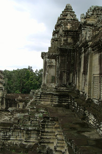 Angkor is one of those places that, when you sit there looking out towards the rainforest - it's surreal just being there