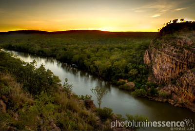 Sunset over Katherine Gorge, NT, Australia