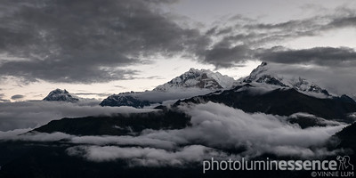 Annapurna range as seen from Poon Hill