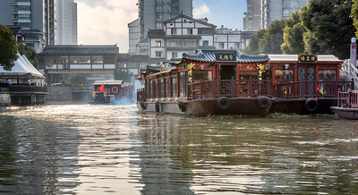 Nanchang Canal Life - Water Taxis