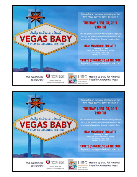 Vegas Baby 2 on a page