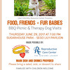 therapy dog bbq