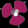 sego lily purple grey center 50%