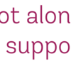 you are not alone support group