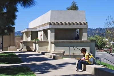 Hollyhock House Los Feliz LA CA 2010