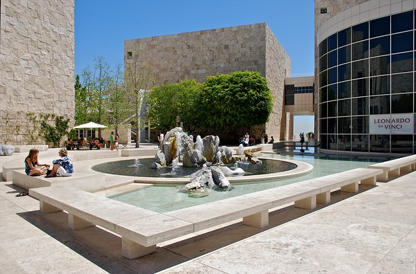 The Getty Center LA CA