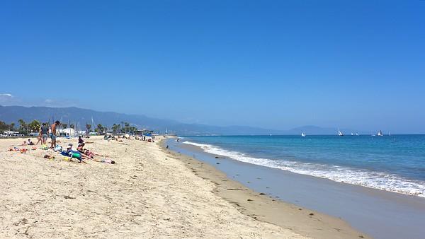 Ledbetter Beach Santa Barbara CA