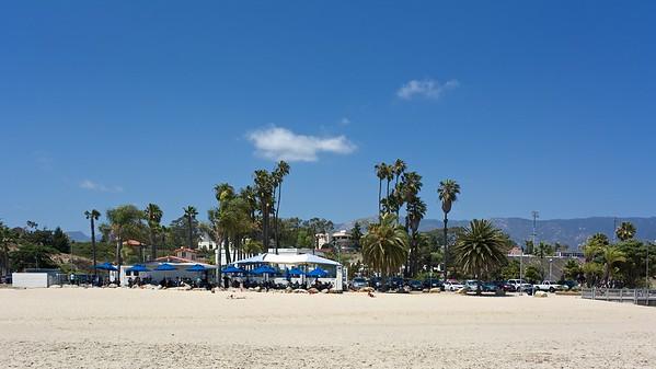 Shoreline Beach Cafe Ledbetter Beach Santa Barbara CA