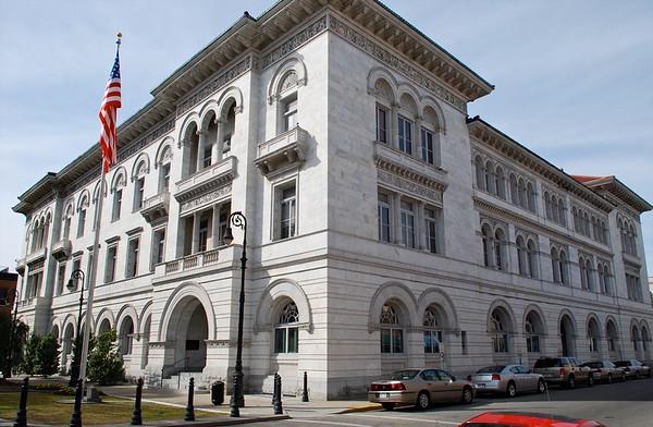 TomochichiFederal Building & Courthouse Savannah GA
