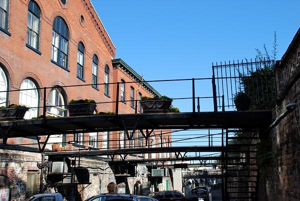 Waterfront Warehouses Savannah GA