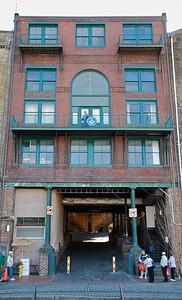 Waterfront Warehouses Cotton Exchange Savannah GA