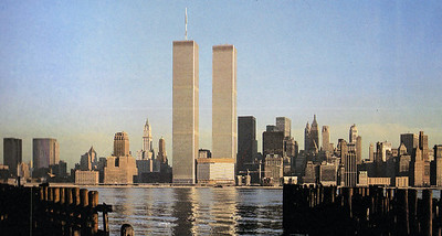 Twin Towers Word Trade Center NYC 1981