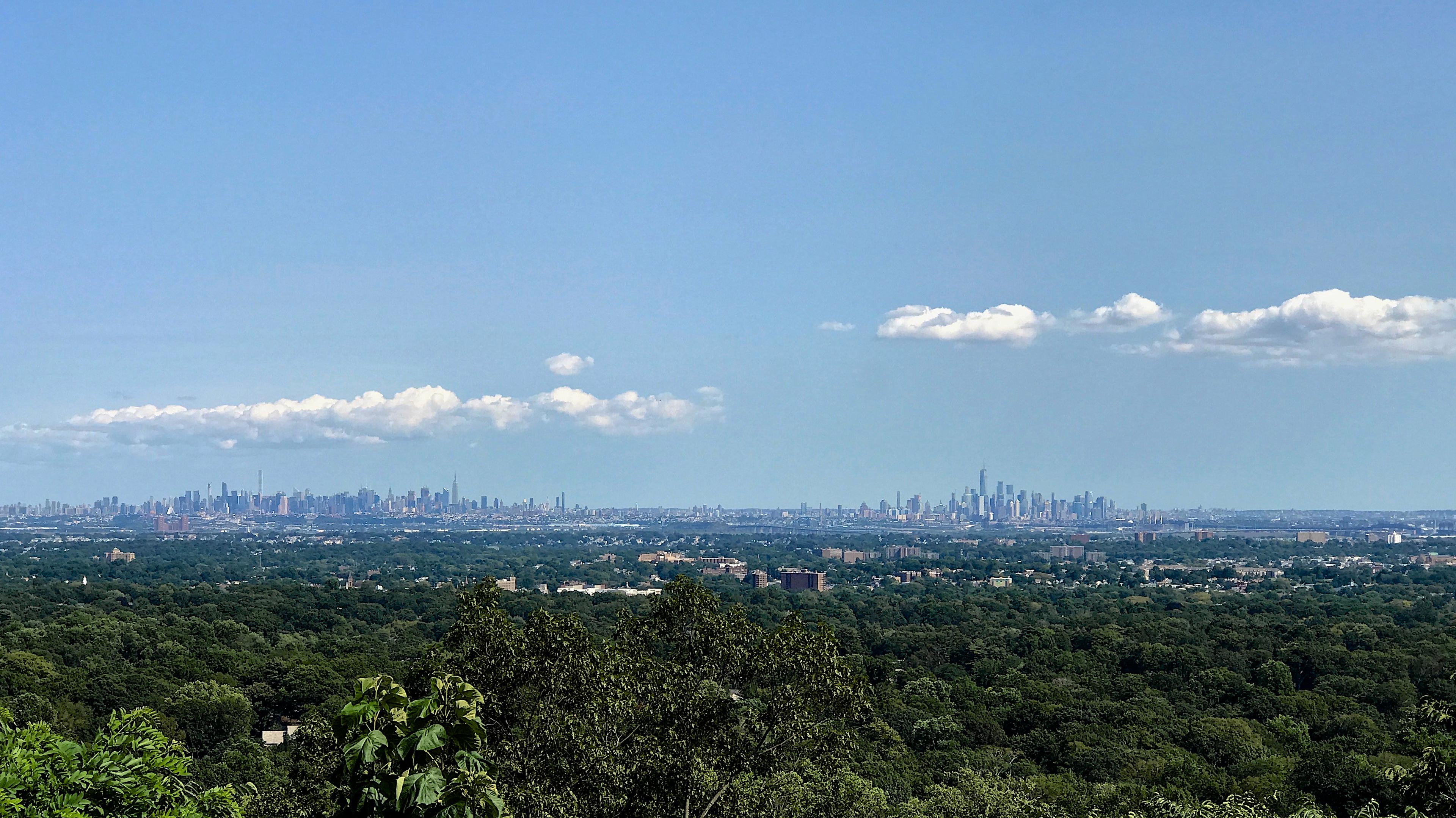 Manhattan from Eagle Rock Reservation West Orange NJ