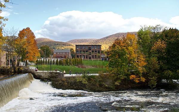 Fishkill Creek Falls  & Roundhouse Event Space Beacon NY