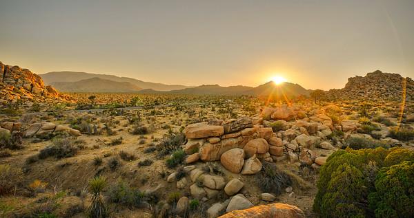 Sunset on Boulders