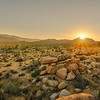 Sunset on Boulders