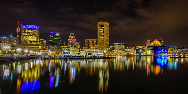 Reflecting the Inner Harbor