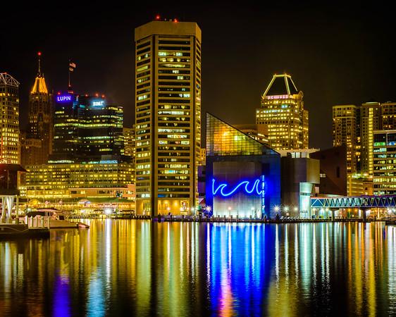 Baltimore Aquarium and Surroundings