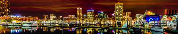 Panoramic Baltimore