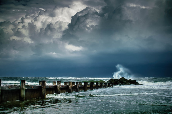 Storm at Folly Beach #2