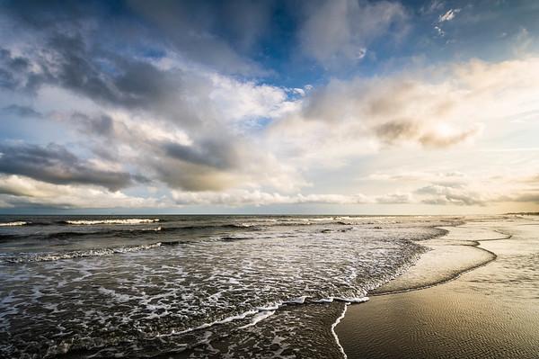 Near Sundown at Folly Beach