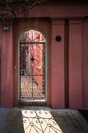 Sunshine Through Entrance Gate
