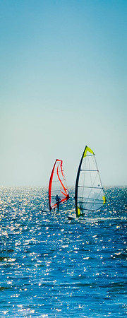 Wind Surfing at Pamlico Sound #2