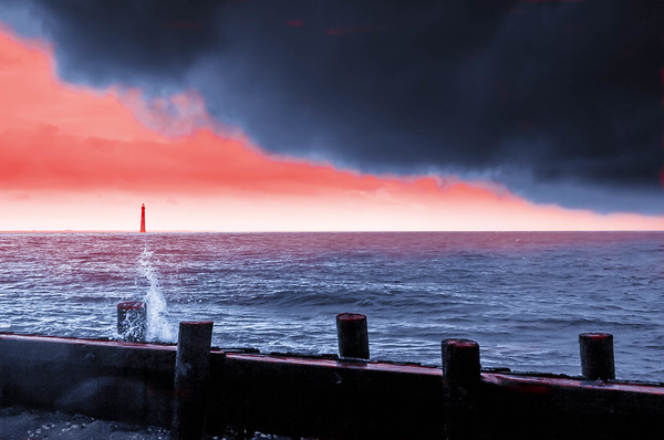 Storm Approaching the Light House