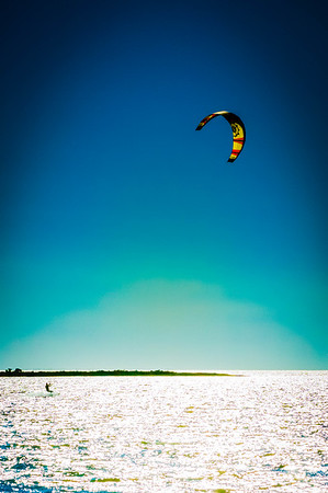 Para-Surfing at Pamlico Sound #3